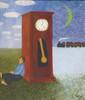 Andrey KARPOV (né en 1959) La montre Huile sur toile, signée en pas à droite 70 x 60 cm
