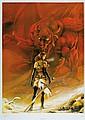 3 grandes affiches sur le thème du fantastique  Numérotées et signées à 444 exemplaires  68 x 48 cm