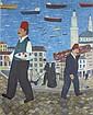 Andrey KARPOV  Istanbul  Huile sur toile, signée en bas à droite  100 x 80 cm