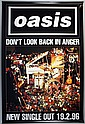Three original promo posters for Oasis
