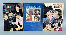 The Beatles, original Japanese tour programmes for the movies HELP!, A Hard Day's Night & Let It Be, A (3)