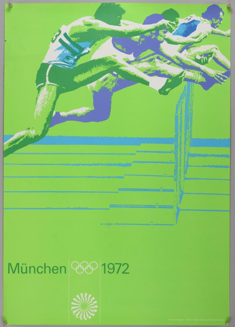 Olympic Interest - Otl Aicher (1922-1991) - Poster