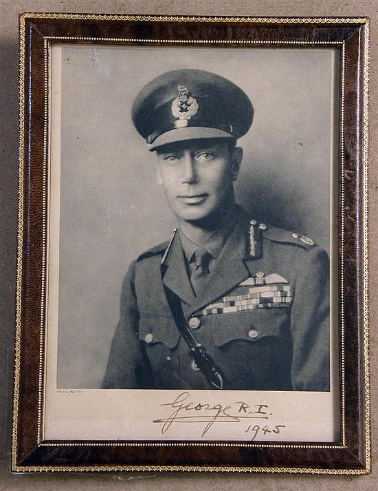 Photograph of King George VI,