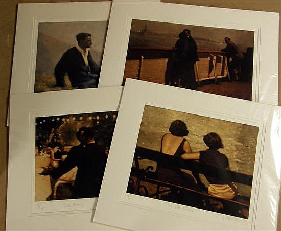 § Anne Magill, Four Signed Limited Edition Prints