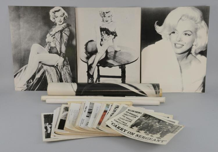 Marilyn Monroe Tommy Gun: 80+ Vintage Promotional Black & White Photographs & Front Of