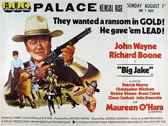 1971 Big Jake Movie Poster