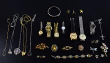 Costume jewellery inc dress watches and brooches i