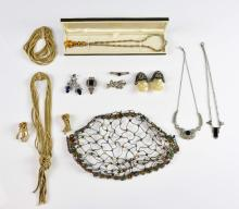 Vintage Costume Jewellery, Grosse necklace, bracel