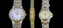 Ladies Gucci steel and gold watch, gentleman's rot
