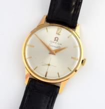 Omega a gentleman's  Seamaster gold plated wristwa