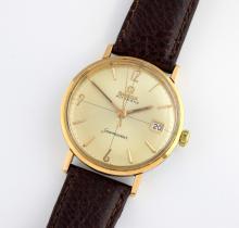 Omega gentlemans Seamaster wristwatch in bi metal