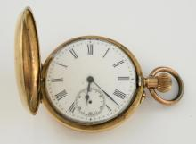 Gentleman's pocket watch, white round dial with Ro