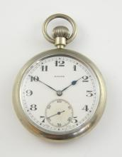Rolex military issue nickel cased pocket watch,  s