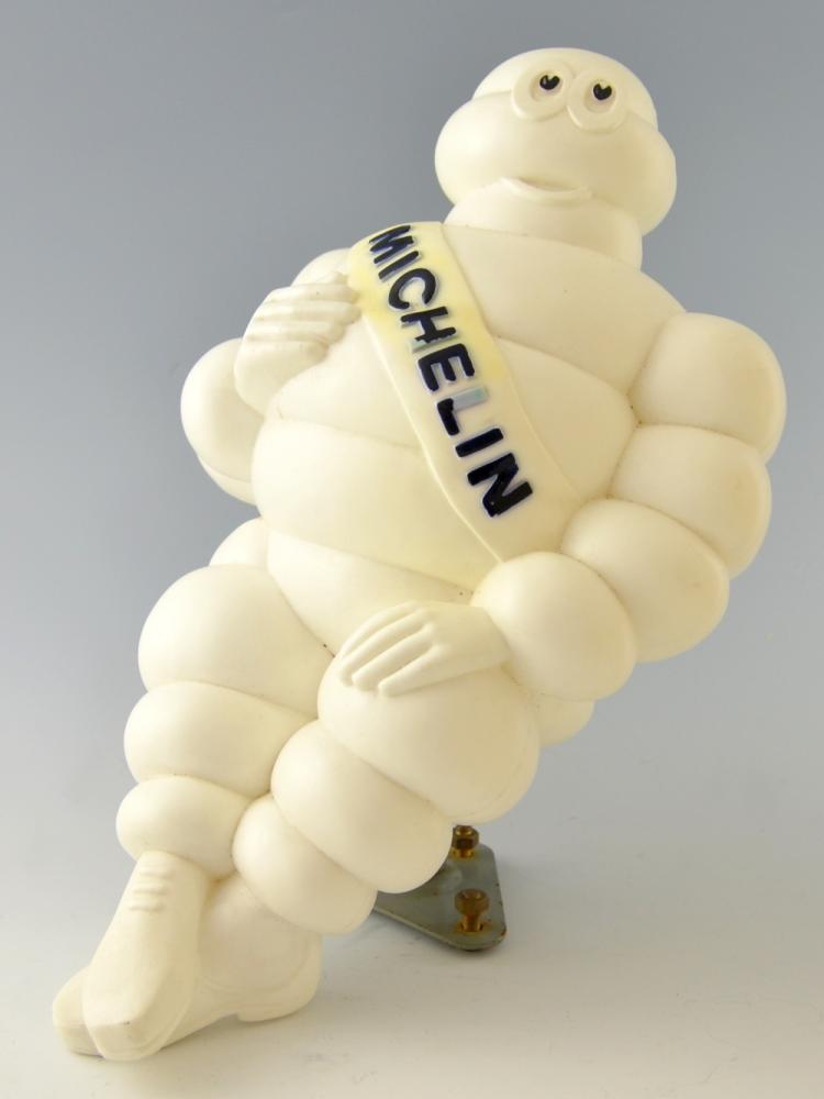 Michelin Man 'Bibendum' plastic figure, issued for