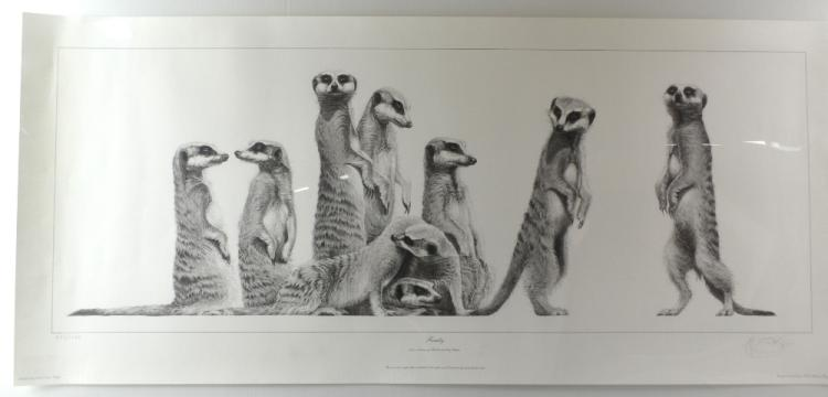 Gary Hodges 'Family' 532/1250 limited edition prin