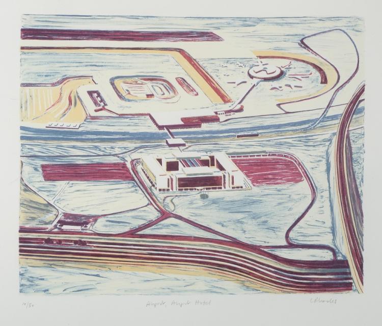 Carol Rhodes (British, b.1959). 'Airport, Airport
