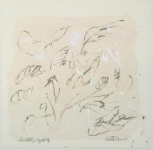 Elizabeth Strath. Abstract mixed media. Signed and