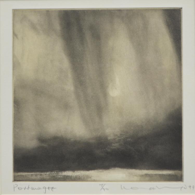 Norman Ackroyd (British, b. 1938), 'Portmagee' lim