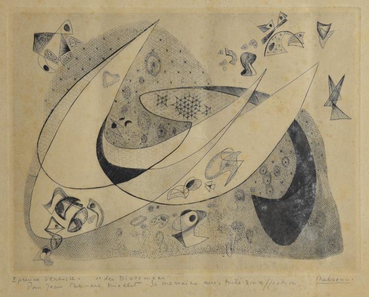 Madeleine Melsonn, Surrealist expressionist style