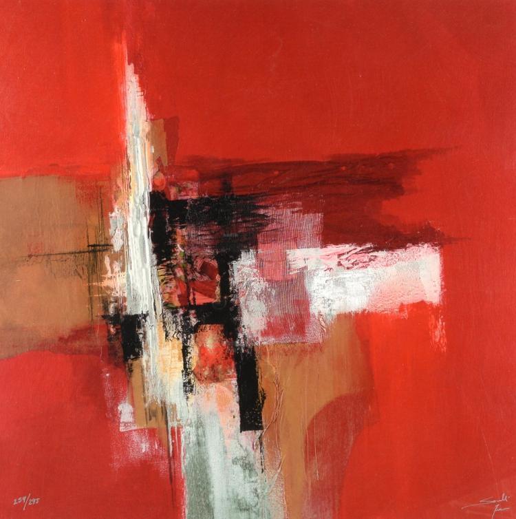 After Henri Matisse geometric print, 60 cm square,