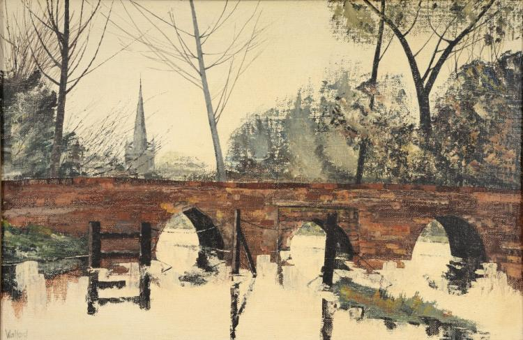 Walford. 'Harrold Bridge, Bedfordshire, River Ouse