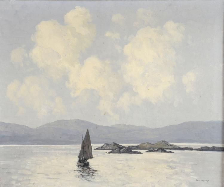 § Paul Henry R.H.A (Irish, 1876-1958). A View on A