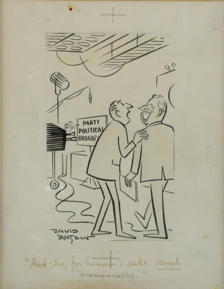 David Langdon, (British,1914-2011), 'And, sir, for