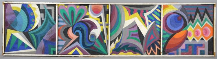 Rosa Schafer, b.1901-, 'Variations', signed with i