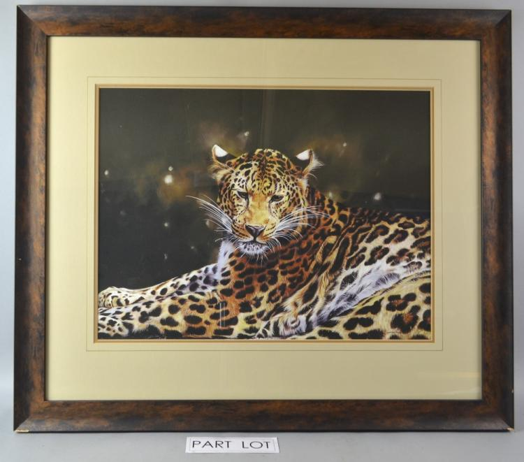 Lyndsey Selley limited edition print of a Leopard,