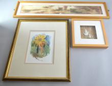 Louisa Wood abstract textile, 73 x 10 cm Maureen C