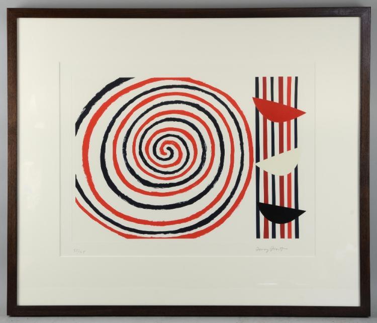 § Sir Terry Frost RA (British, 1915-2003).'Spirals