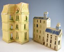 Sylvia Whiteford-Engholm. A pottery dolls house mo