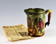 A Royal Doulton 'The Guy Fawkes Jug'. Designed by