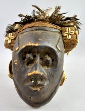 A 20th century Pwoom Itok mask, Kuba, D.R. Congo,