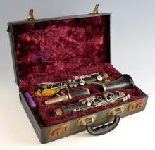 Boosey and Hawkes clarinet in fitted case