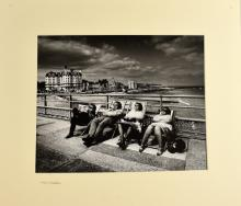 § Don McCullin, Silver Gelatin print of four peopl