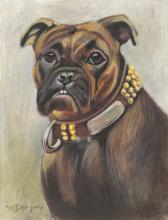 William Luker Jnr. (British 1867-1948), A dog wear