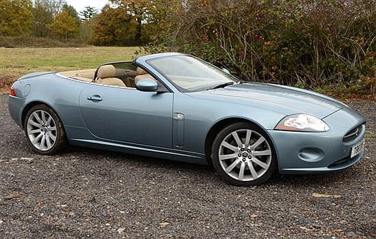 2006 Jaguar XK convertible 4.2 litre, Auto sports two door automatic,  approx mileage 40,000 , Reg No T88 DRS,