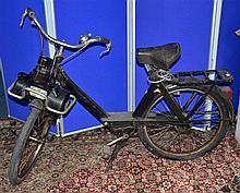 Mid 20th century Solex motorized pedal bike