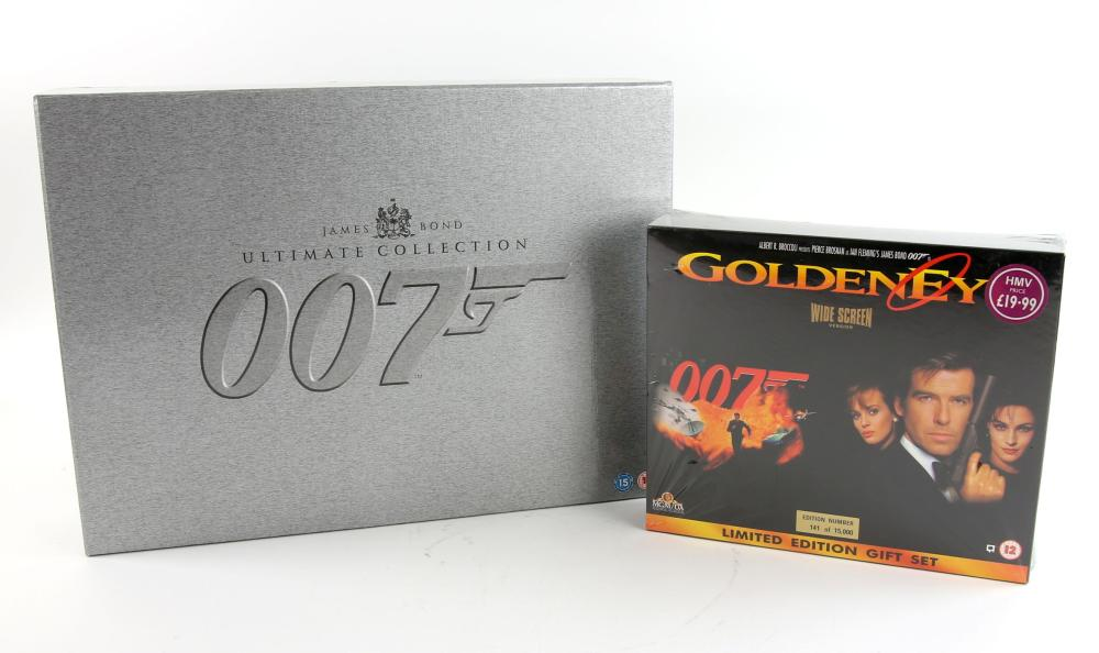 9b1f24ea62a8 James Bond - The Ultimate DVD Collection with over 40 discs