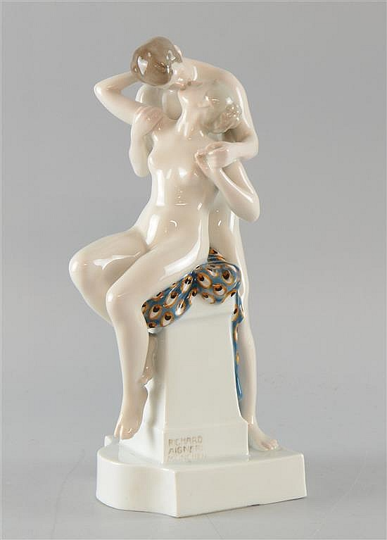 'Spring Love' a figure group by Richard Aigner for Rosenthal