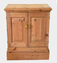 Pine TV cabinet,