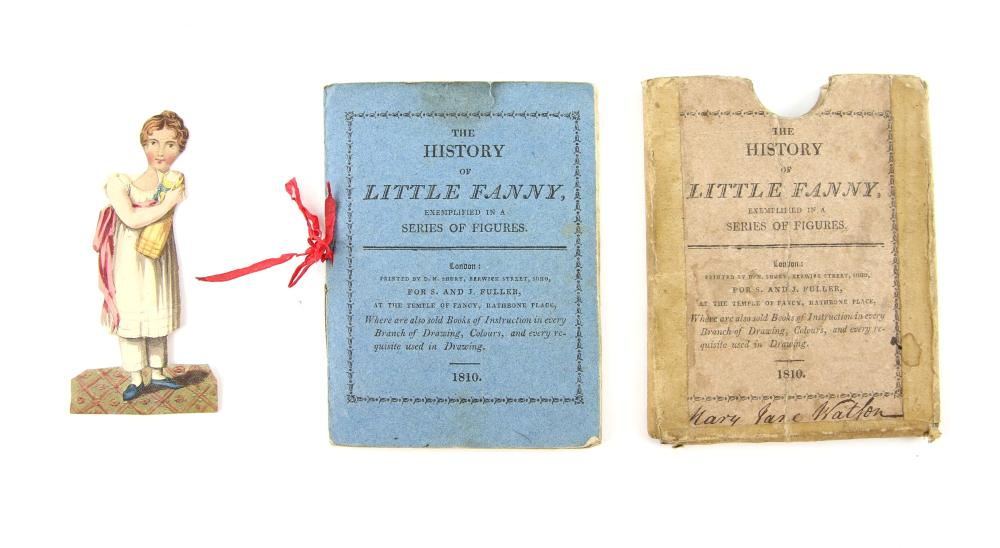 OLD CHILDREN'S BOOK. The History of Little Fanny,