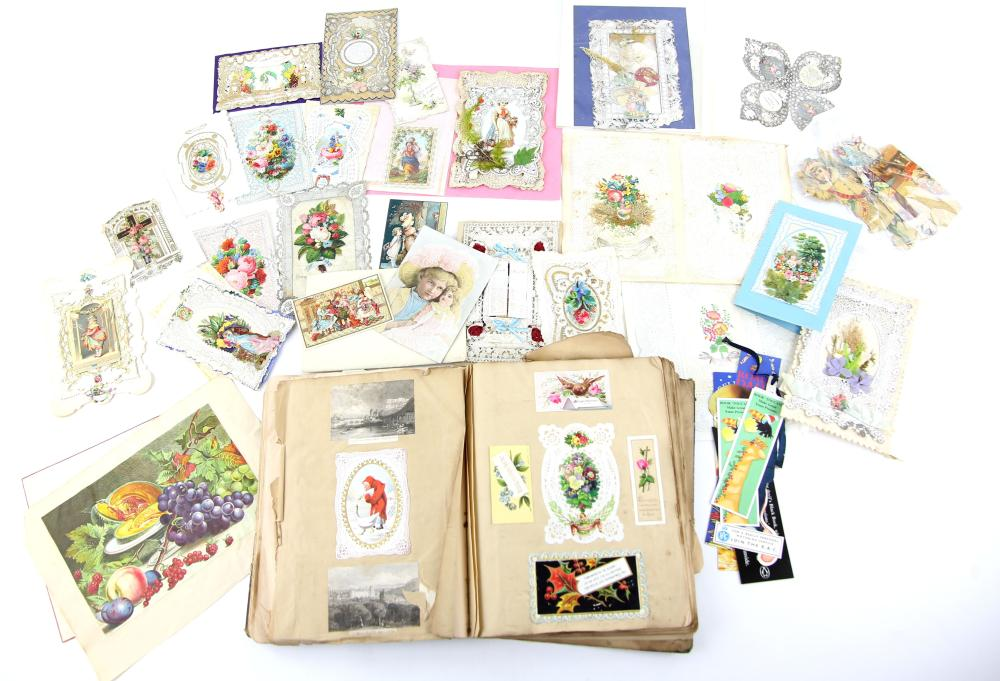Victorian and later Christmas and greeting cards t