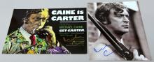 Michael Caine - a signed 'Get Carter' front house