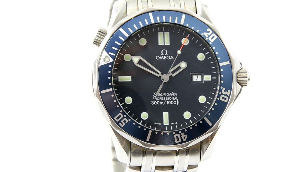 Omega seamaster ref 25418000 gentleman 39 s divers wr for Omega diver