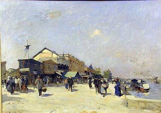 Louis-Jules Dumoulin, French 1860-1924,