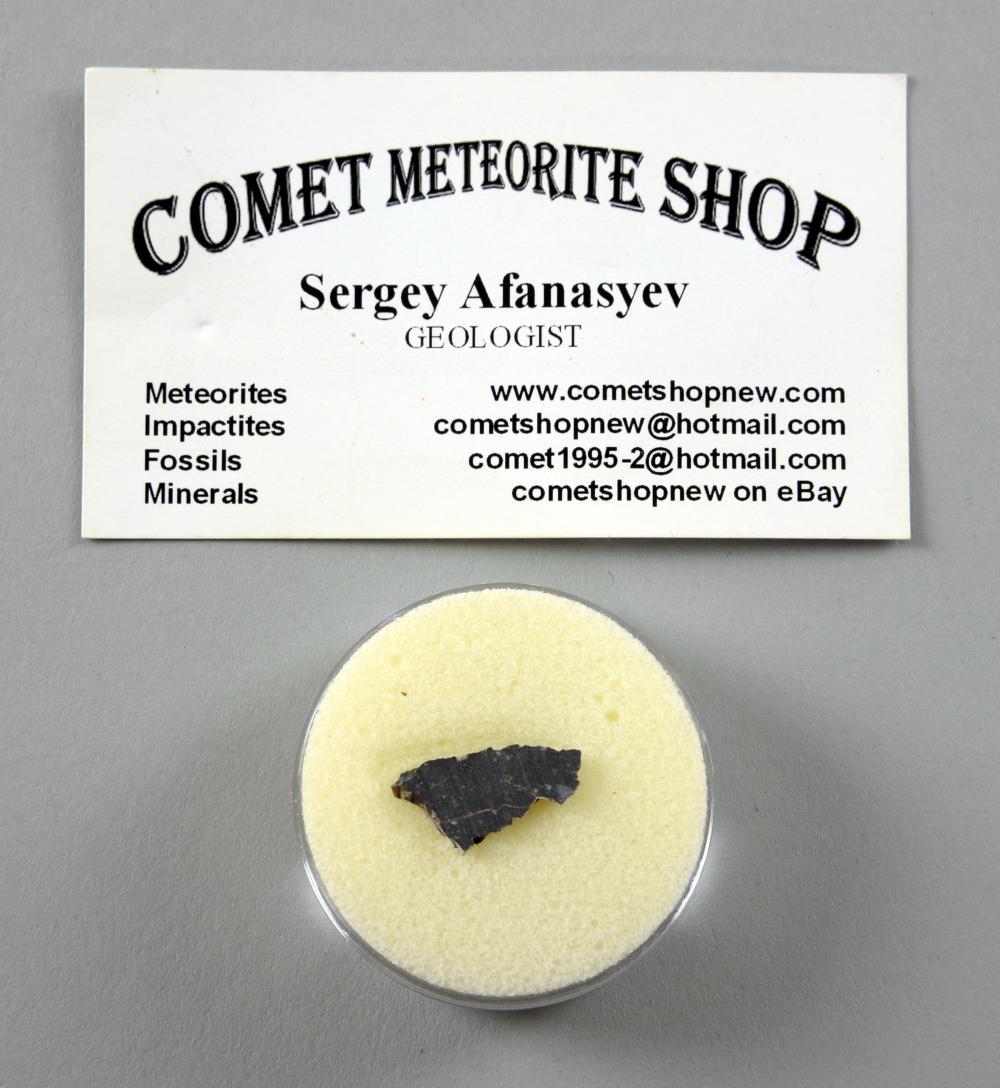 Lunar meteorite, slice.NWA 63550.476gmCountr