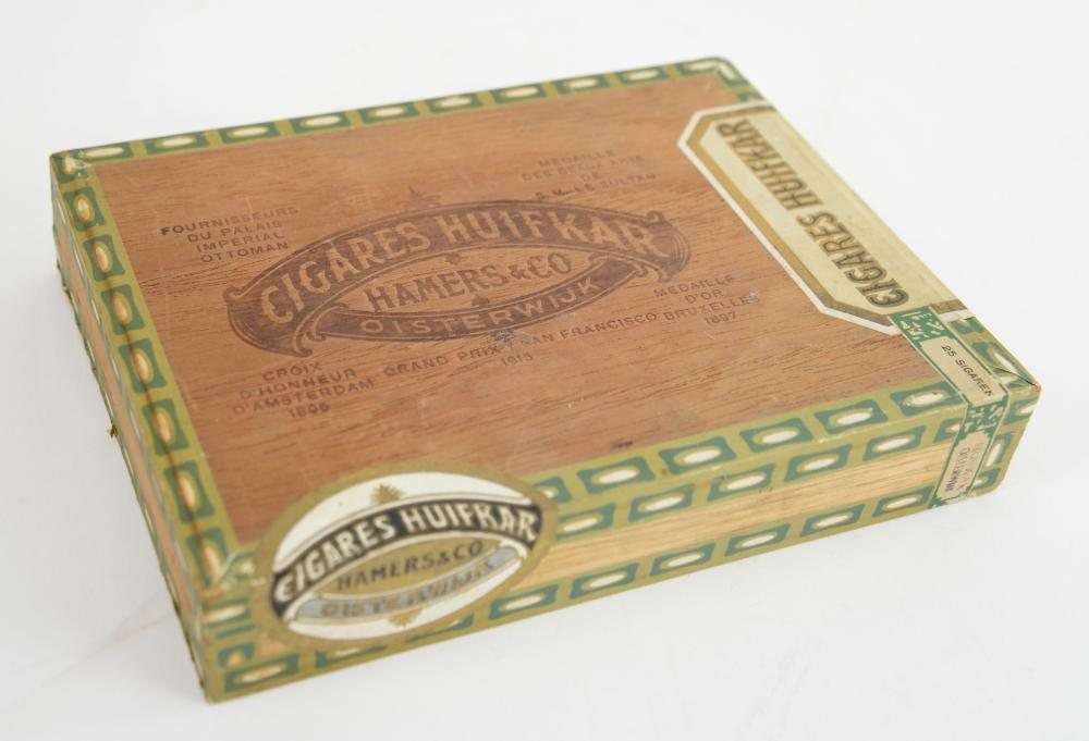 Box of 25 cigars, unopened, labelled Hamers & Co C