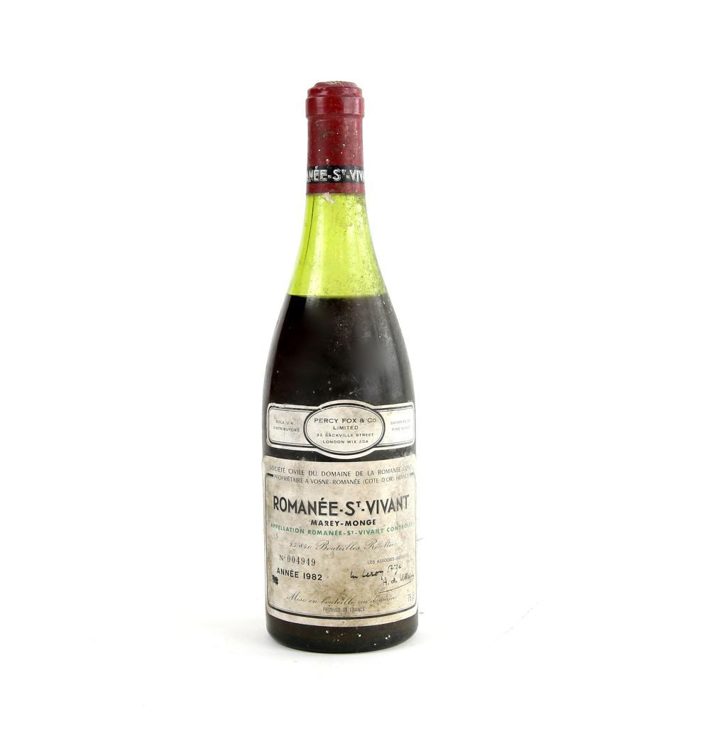 One bottle of Romanee St Vivant Marey-Monge 1982 v